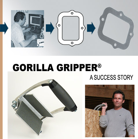 MPE's inventor success story - the Gorilla Gripper panel carrier