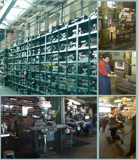 MPE's in-house Tool and Die Facility - we'll also store your dies at no charge